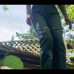 Calvin Klein jeans High waisted mom style